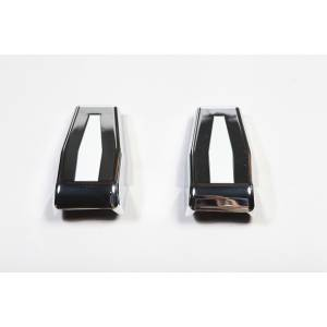 Rugged Ridge - Liftgate Hinge Covers, Chrome; 07-15 Jeep Wrangler JK