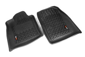 Rugged Ridge - Rugged Ridge Floor Liners, Front, Black (2012-15) Dodge Durango/Jeep Grand Cherokee WK