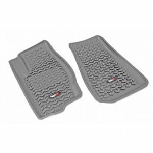 Rugged Ridge - Rugged Ridge Floor Liners, Front, Gray (2006-09) Jeep Commander (2005-10) Grand Cherokee