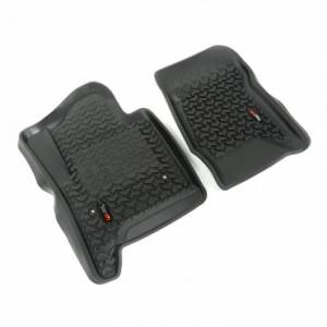 Rugged Ridge - Rugged Ridge Floor Liners, Front, Black (2014-15) GM SUV/1500/2500/3500 Pickup