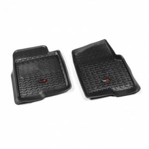 Rugged Ridge - Rugged Ridge Floor Liners, Front, Black (2011-14) Ford F-150