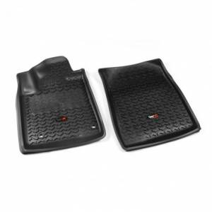 Rugged Ridge - Rugged Ridge Floor Liners, Front, Black (2012-15) Toyota Sequoia/Tundra