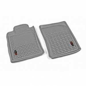 Rugged Ridge - Rugged Ridge Floor Liners, Front, Gray (2010-13) Toyota 4Runner
