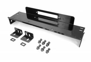 Rugged Ridge - Raised Winch Plate; 76-86 Jeep CJ7/CJ8