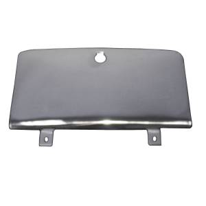 Rugged Ridge - Glove Box Door, Stainless Steel; 76-86 Jeep CJ Models