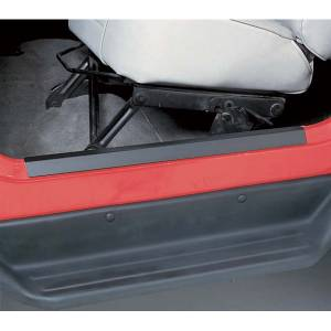 Rugged Ridge - Rugged Ridge Door Entry Guard Set, Black (1997-06) Jeep Wrangler TJ