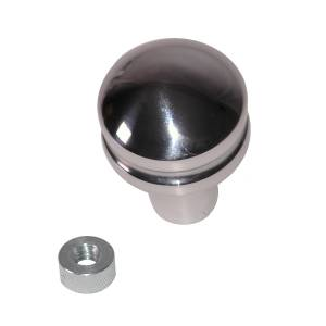Rugged Ridge - Rugged Ridge Billet Shift Knob, Blank (1997-06) Jeep Wrangler TJ