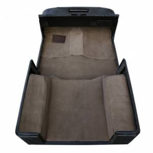 Rugged Ridge - Rugged Ridge Deluxe Carpet Kit, Honey (1976-95) Jeep CJ/Wrangler YJ