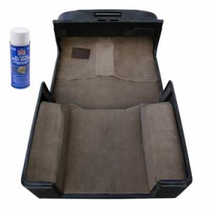 Rugged Ridge - Rugged Ridge Deluxe Carpet Kit with Adhesive, Honey (1997-06) Jeep Wrangler TJ