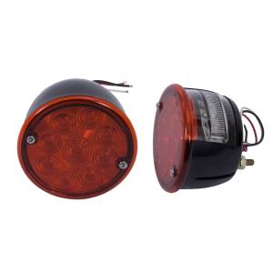 Rugged Ridge - LED Tail Light Set; 46-75 Willys/Jeep CJ Models