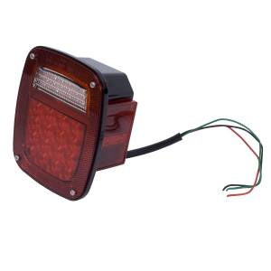 Rugged Ridge - LED Tail Light Assembly, Right Side; 76-06 Jeep CJ/Wrangler YJ/TJ