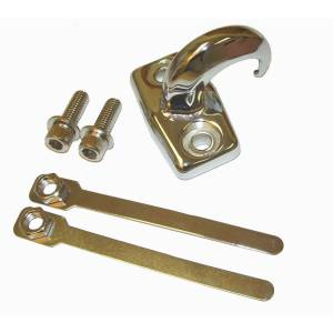Rugged Ridge - Rear Tow Hook, Chrome; 97-06 Jeep Wrangler TJ