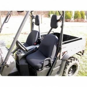 Rugged Ridge - Rugged Ridge Fabric Seat Covers, Black; Yamaha UTV