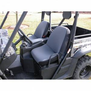 Rugged Ridge - Rugged Ridge Fabric Seat Covers, Gray; Yamaha UTV