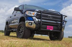 Tough Country - Tough Country Standard Brush Guard with Expanded Metal, Toyota (2014-15) Tundra