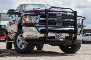 Tough Country - Tough Country Standard Brush Guard with Expanded Metal, Dodge (2010-15) 2500 & 3500 Ram
