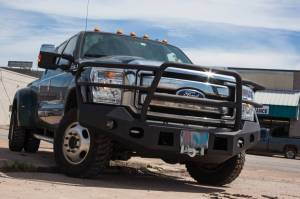 Tough Country - Tough Country Standard Evolution Front Bumper, Ford (2015-16) F-250 & F-350 Super Duty