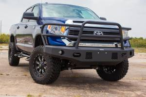 Tough Country - Tough Country Custom Evolution Full Top Front Bumper, Toyota (2014-15) Tundra