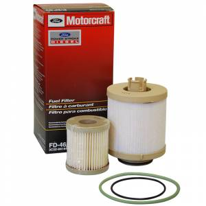 Ford Genuine Parts - Ford Motorcraft Fuel Filter, Ford (2003-07) 6.0L Power Stroke (FD-4616)