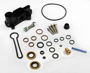 "AVP - AVP Adjustable Fuel Pressure Regulator ""Blue Spring"" Upgrade Kit, Ford (2003-07) 6.0L Power Stroke (Black Housing)"