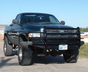 Ranch Hand - Ranch Hand Legend Bumper, Dodge (1994-01) 1500, (94-02) 2500 & 3500 ( Excluding 98-02 Sport Series)
