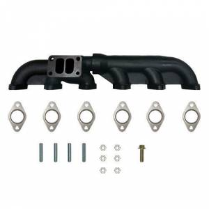 Diesel Power Source - Diesel Power Source 2-Piece Exhaust Manifold, Dodge (2003-07) 5.9L Cummins, w/gaskets