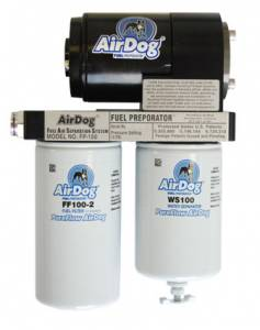 Pure Flow Technologies - AirDog I, Dodge (1998.5-04) 5.9L Cummins, FP-100, w/o in-tank fuel pump, Quick Disconnect Fittings