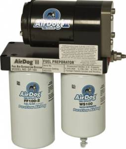 Pure Flow Technologies - AirDog II, Chevy/GMC (1992-00) 6.5L Diesel, DF-165 Adjustable Regulator, Quick Disconnect Fittings