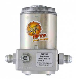 Pure Flow Technologies - Raptor 150 Fuel Pump, Chevy/GMC (1992-00) 6.5L Diesel, Quick Disconnect Fittings