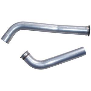 "MBRP - MBRP 4"" Down-Pipe, Ford (2003-07) F-250/F-350/F-450/F-550, 6.0L Power Stroke, Aluminized"