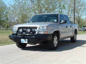 Ranch Hand - Ranch Hand Legend Bullnose Bumper, Chevy (2003-07) 1500 Classic & (03-06) Avalanche