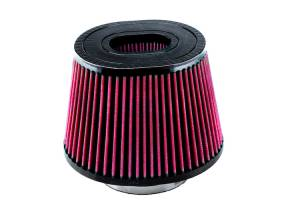 S&B - S&B Replacement Air Filter (for Ford 6.4L Intake with round flange) Cleanable, 8-ply Cotton