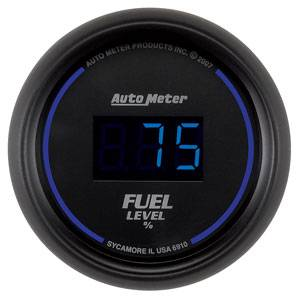 Autometer - Auto Meter Colbalt Digital Series, Fuel Level Programmable