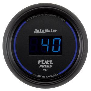 Autometer - Auto Meter Colbalt Digital Series, Fuel Pressure 0-100psi