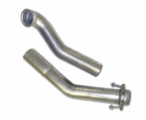 "Diamond Eye Performance - Diamond Eye 3"" Down Pipe, Ford (1994-97) F250/F350, 7.3L Power Stroke, Aluminized"