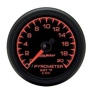 Autometer - Auto Meter ES Series, Pyrometer Kit 0*-2000*F (Full Sweep Electric)