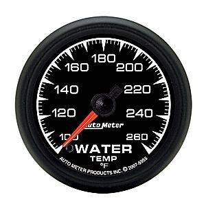 Autometer - Auto Meter ES Series, Water Temperature 100*-260*F (Full Sweep Electric)