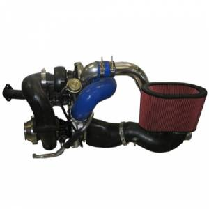 Diesel Power Source - Diesel Power Source Twin Turbo Kit, Dodge (2003-09) 5.9L & 6.7L Cummins, HT3B/D-Tech 62
