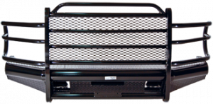 Tough Country - Tough Country Custom Traditional Front Bumper, Chevy (2003-07) 2500 & 3500