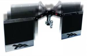 "Inventive Products - Inventive Products XD Mud Flap Kit for Standard 2"" x  2"" Receivers (Base Included)"