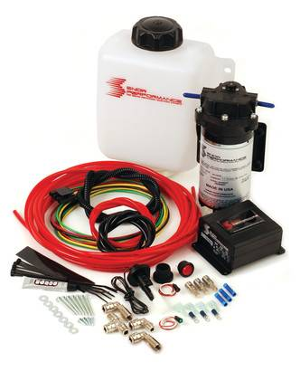 Snow Performance - Snow Performance Water Meth Kit, Stage 2 Diesel Boost Cooler, Ford (2003-07) 6.0L Powerstroke (F250/F350/F450/F550, E250/E350/E450) & (2003-05) 6.0L Excursion