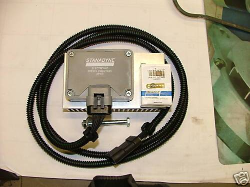 Stanadyne - Stanadyne Injection Pump Driver with Relocation Kit, Chevy/GMC (1994-00) 6.5L Diesel, PMD, Resistor, Cooler, & 6' Harness