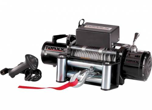Pro Maxx - Torxx Truck Winch Kit, 12,000lbs with wire fairlead