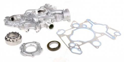 Ford Genuine Parts - Ford Motorcraft Front Cover Kit, Ford (2005-07) 6.0L Power Stroke, with Low Pressure Oil Pump