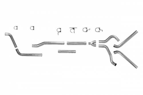 ford f 250 dual exhaust systems