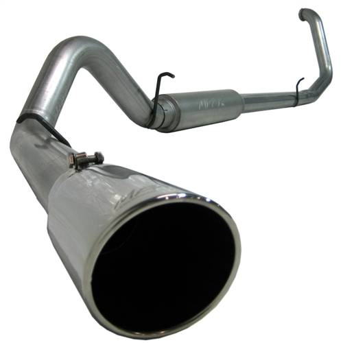 "MBRP - MBRP 4"" Turbo Back, Ford (1999-03) F-250/F-350, 7.3L Power Stroke, Single Side Exit, T409 Stainless"