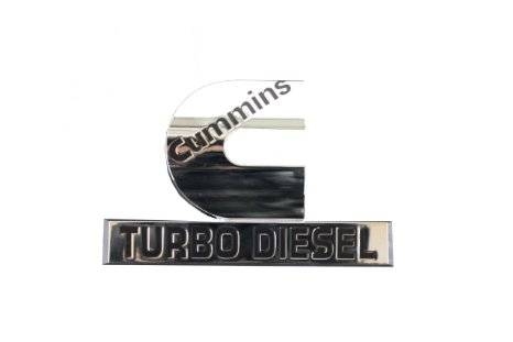 Mopar - Cummins-Turbo Diesel Logo Badge