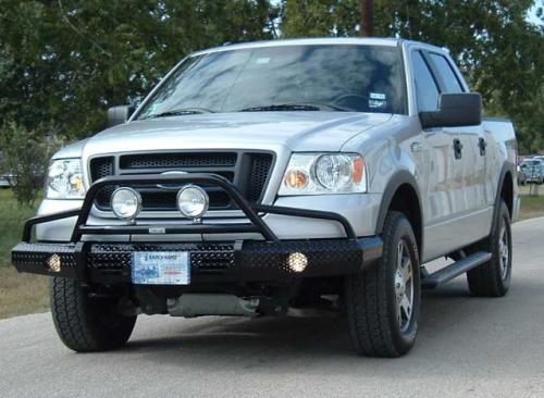 05 F150 Bumper >> Ranch Hand Summit Bullnose Bumper Ford 2004 05 F 150