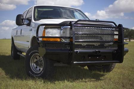 Tough Country - Tough Country Custom Traditional Front Bumper, Ford (1999-04) F-250/F-350/F-450/F-550 Super Duty & (00-04) Excursion