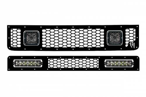 Rigid Industries - Rigid Industries LED Grille, Toyota (2005-13) FJ Cruiser Upper & Lower